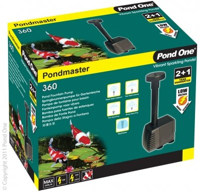 Pond Master Fountain Pump Spare Parts